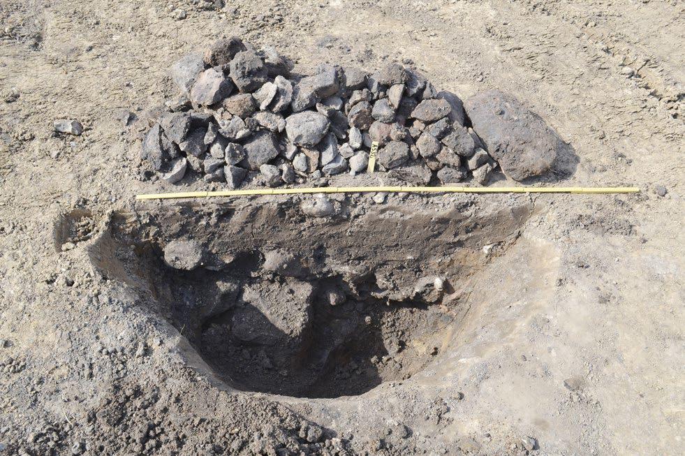 En aktivitetsyta från bronsålder