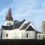 Grav, bogårdsmur och kulturlager vid Östra Hargs kyrka