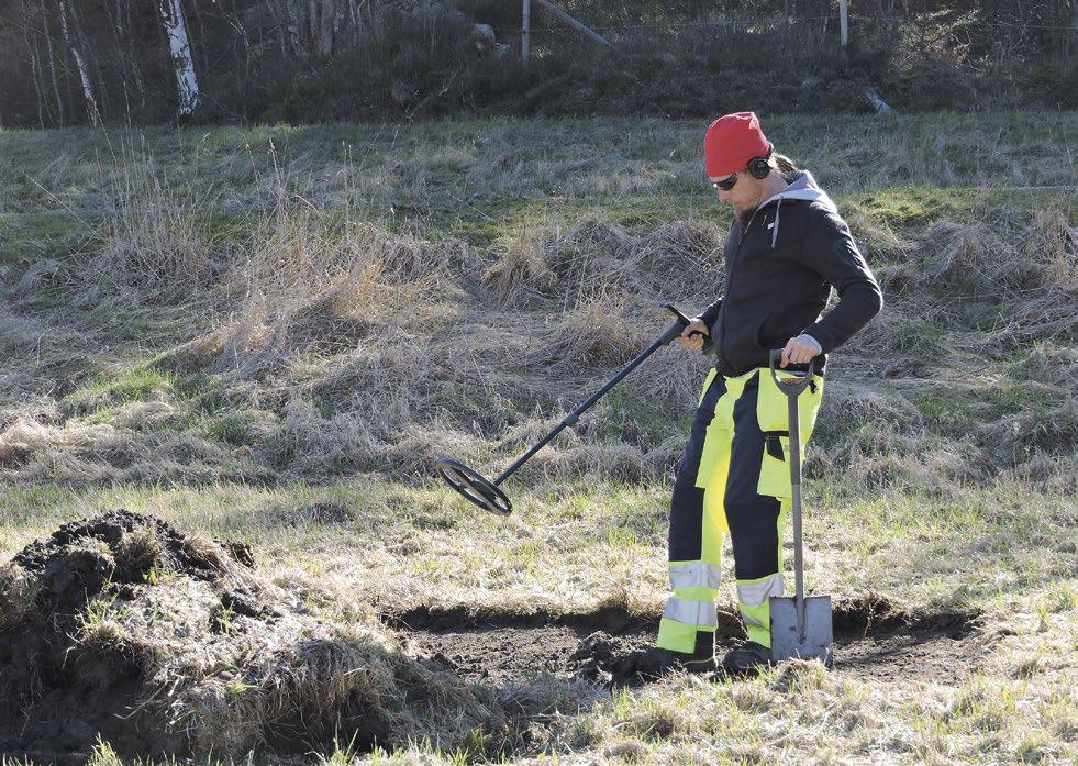 Arkeologisk utredning av två områden