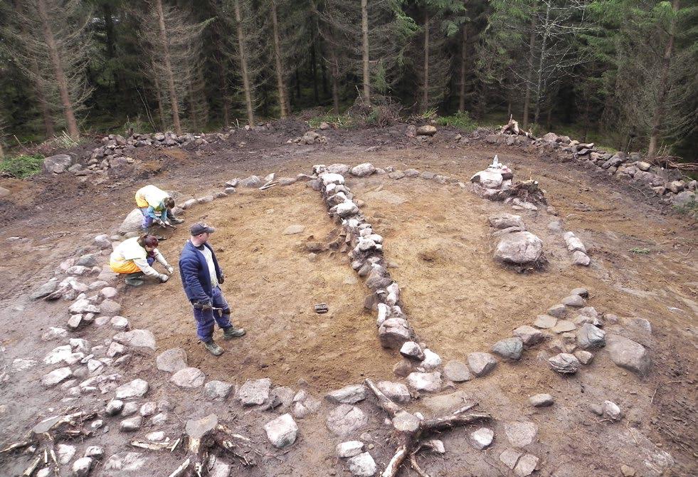 Gravar och fossil åkermark