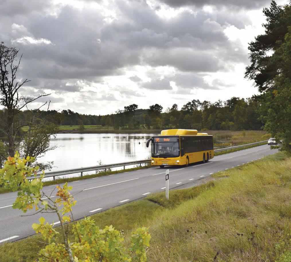 Väg 19 mellan Bjärlöv och Broby