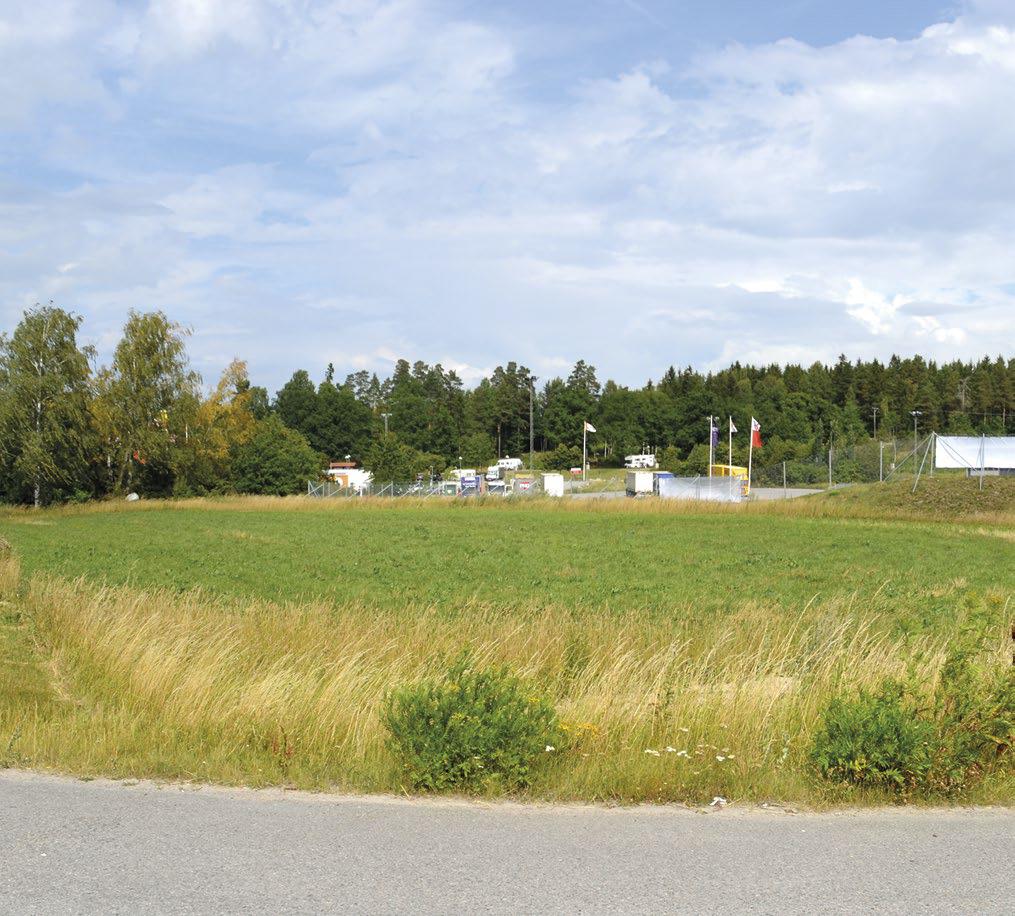 Ett gårdstun i Klinga