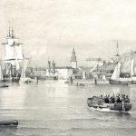 Masthamnens bryggor från 1800-talet?