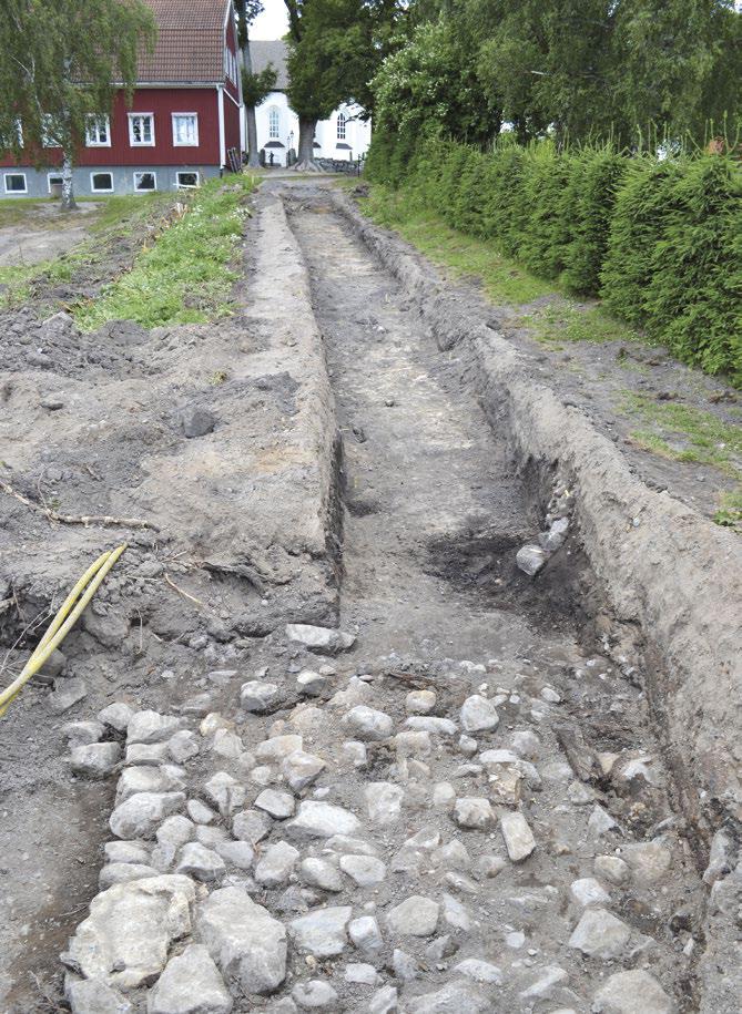 Fossil åkermark, hålväg och klosterjord