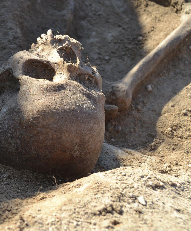 En grav från Kalmarkriget