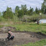Trädgårdsarkeologi i Axmar bruk
