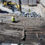 Unik båtskrot och skeppsvrak funna på Djurgården