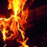 Elden i centrum