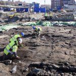 Schaktningar i Gamlestaden och nya vägar på Marieholm
