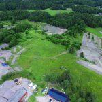 Gårdslämningar i nordvästra Skälby