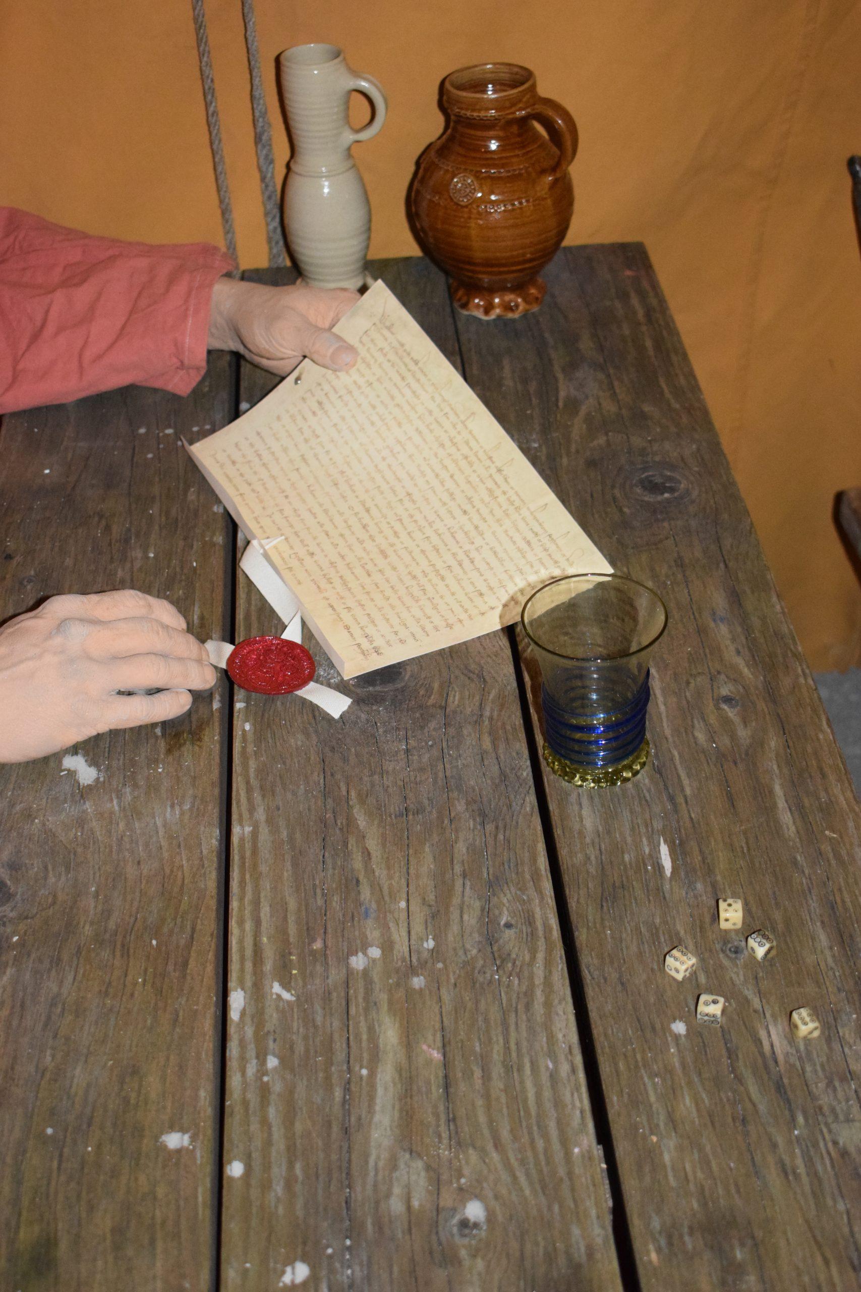 Det finns fyra kända brev som är utfärdade av Albrekt av Mecklenburg under belägringen. Breven är skrivna mellan den 31 augusti och 19 november. I ett av breven framgår att det är utfärdat vid lägret framför Borgholm.